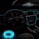 Pack 3 Cables Leds Decorativo Interior Automovil Tunning Luz
