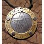 Dije Pentáculo Vikingo Wicca Runas Inox Medieval Env Incluid