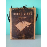 Cuadro Vintage De Game Of Thrones House Stark Got