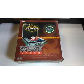 Set De Poker 100 Fichas Laser Numeradas
