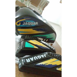 Tanque De Moto Jaguar Con Tapa Laterales