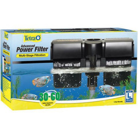 Filtro Peces Whisper Power Filter 30-60 Galones Marca Tetra