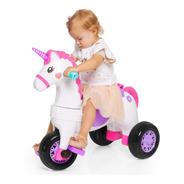 Triciclo Infantil  Unicórnio Fantasy  Rosa - 1001 Calesita