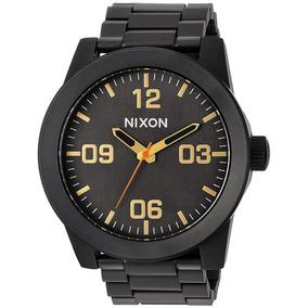 a5a22efc50d Relogio Nixon Dourado Masculino De Luxo - Relógios De Pulso no ...