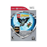Lego Batman The Videogame + Dvd Combo Pack Wii Nuevo