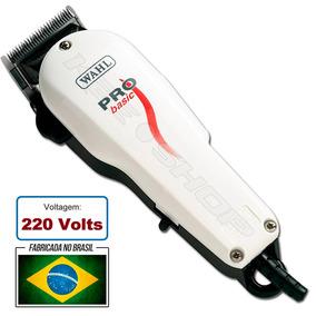 Maquina De Cortar Cabelo Wahl Pro Basic Profissional - Máquinas de ... d7bf8b7be32c