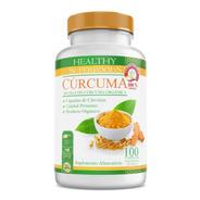 Curcuma Pura Orgánica Premium 100 Capsulas 500mg