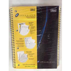 Caderno Organizer Profissional 105 Folhas Tilibra Pacote C/4