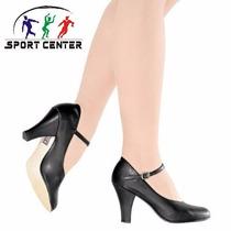 Sapato So Danca Para Danca De Salao C/fivela Napa Salto 7cm