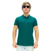 Camisa Polo Maresia Social Green
