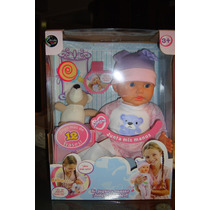 Muñecas Que Hablan, Aplauden, Accesorios. Línea Jeidy Toys