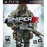 Sniper Ghost Warrior 2 Nuevo Ps3 Dakmor Canje/venta