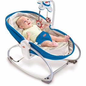 Cadeira De Balanço 3 Em 1 Rocker Napper Azul - Tiny Love