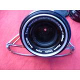 Lente Zoom Nikkor. F-43mm-f86mm
