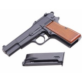 Pistola We Browning Full Metal Airsoft 6mm 20 Bbs 300fps Co2