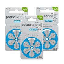 Bateria Auditiva Power One P675 Implant Plus (30 Unidades)