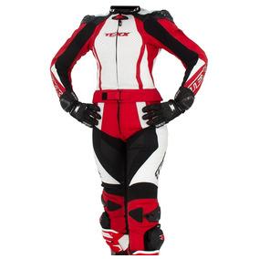 Macacao Moto Feminino Texx Diana Duas Pecas Vermelho