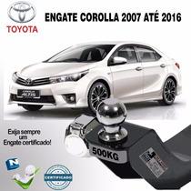 Engate Reboque Corolla 2009 2010 2011 2012 2013 2014