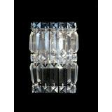 Arandela Vidro Crital Aluminio Complementi Ar1906