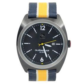 Relógio Quiksilver Brigadier Navy Yellow