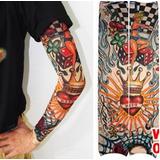 Manga De Tatuagem Nylon Importada Unissex Pronta Entrega