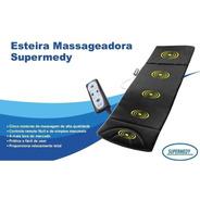 Esteira Massageadora C/ 5 Motores Bivolt Supermedy