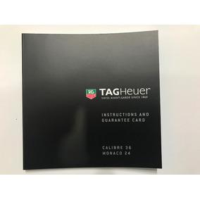Manual Tag Heuer Calibre 36 - Monaco 24