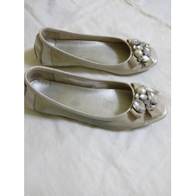 Mocasines Dama Color Beige
