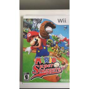 Mario Sluggers Nintendo Wii Mídia Física Original Usado