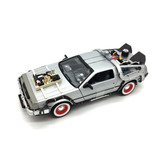 Delorean 1:24 - Time Machine -back To The Future 3 - Welly