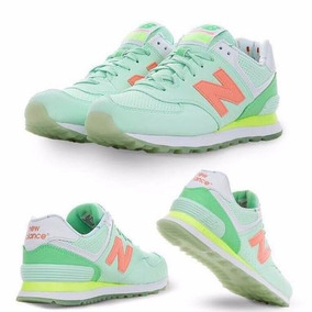 zapatillas new balance mujer verdes