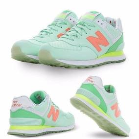 zapatillas new balance mujer verde