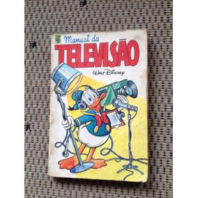 Manual Da Televisão. Original Da Década De 80