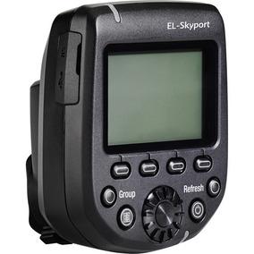 El-skyport Transmitter Plus Hs For Nikon Elinchrom