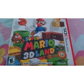 Super Mario 3d Land Original, Capa E Manual. Semi Novo