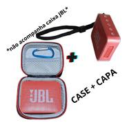 Capa Protetora Jbl Go 2 Case Tpu + Case Rígido Bolsa C/ Alça