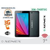 Tablet 3g 7 Xenex Con Chip Y Configuración De Regalo.