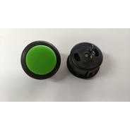 Botão 2nd Impact Sanwa Cherry 30mm Original Verde Kit Com 8.