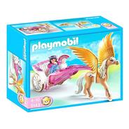 Playmobil Pegasus Con Carruaje 5143 Original Scarlet Kids