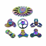 Fidget Spinner Metálico Multicolor