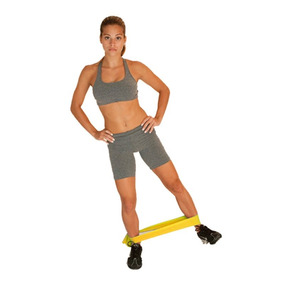 Kit De Faixas Para Exercício T13 Acte Látex Azul Amarelo E V