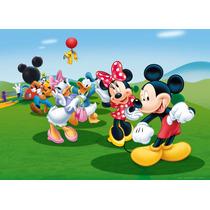 Painel Decorativo Festa Infantil Turma Do Mickey 3 X 2