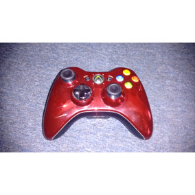 Control Rojo Cromo Inalambrico Original Para Xbox 360,checa
