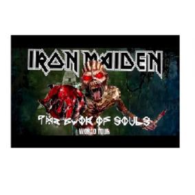 Bandeira De Banda De Rock Iron Maiden 06