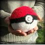 Amigurumi Pokebola. Artesanal Tejida A Crochet. Pokemon