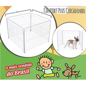 Cercado Canil Cães Cachorro Pintinho Gatos Coelhos 90 X 90