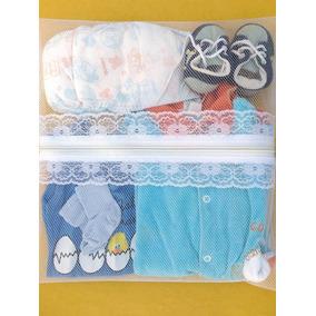 Saquinho Maternidade 6 Unid Com Zíper Simples + Tags