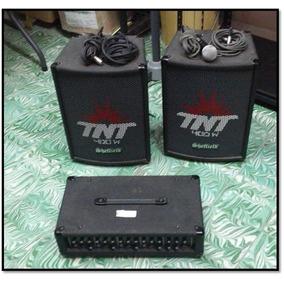 Kit De Bocinas Y Amplificador Sheffield 120 Pa120cP-61489