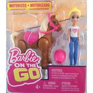 Muñeca Barbie On The Go Pony Mattel