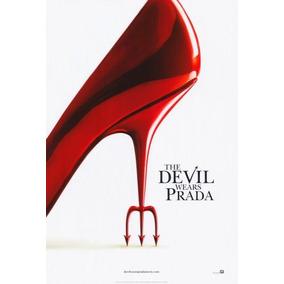 El Diablo Viste De Prada 27x40 Cartel De Película